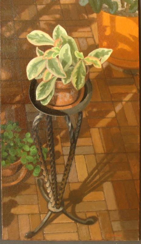 Plant on Tripod