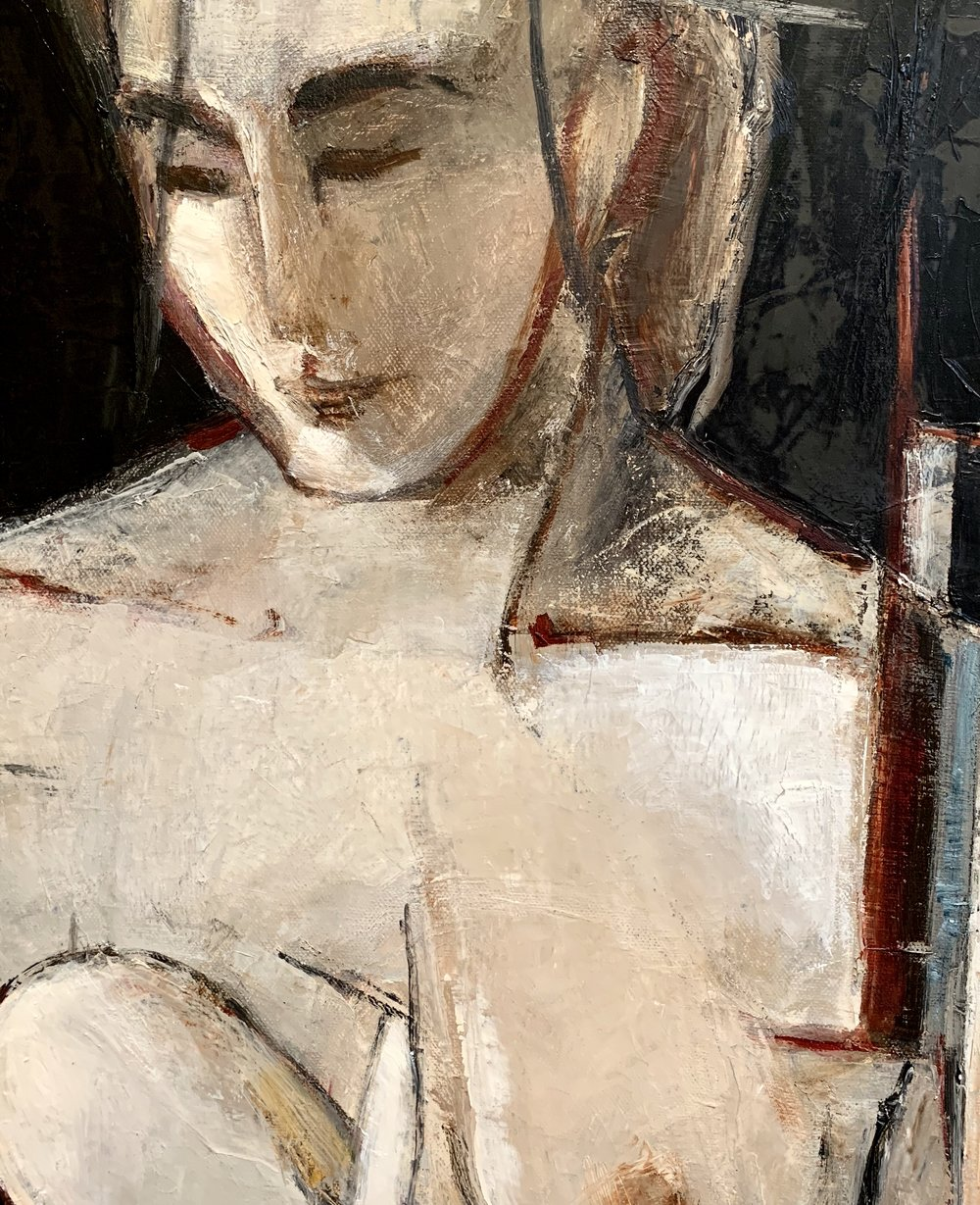 Woman ll (detail)