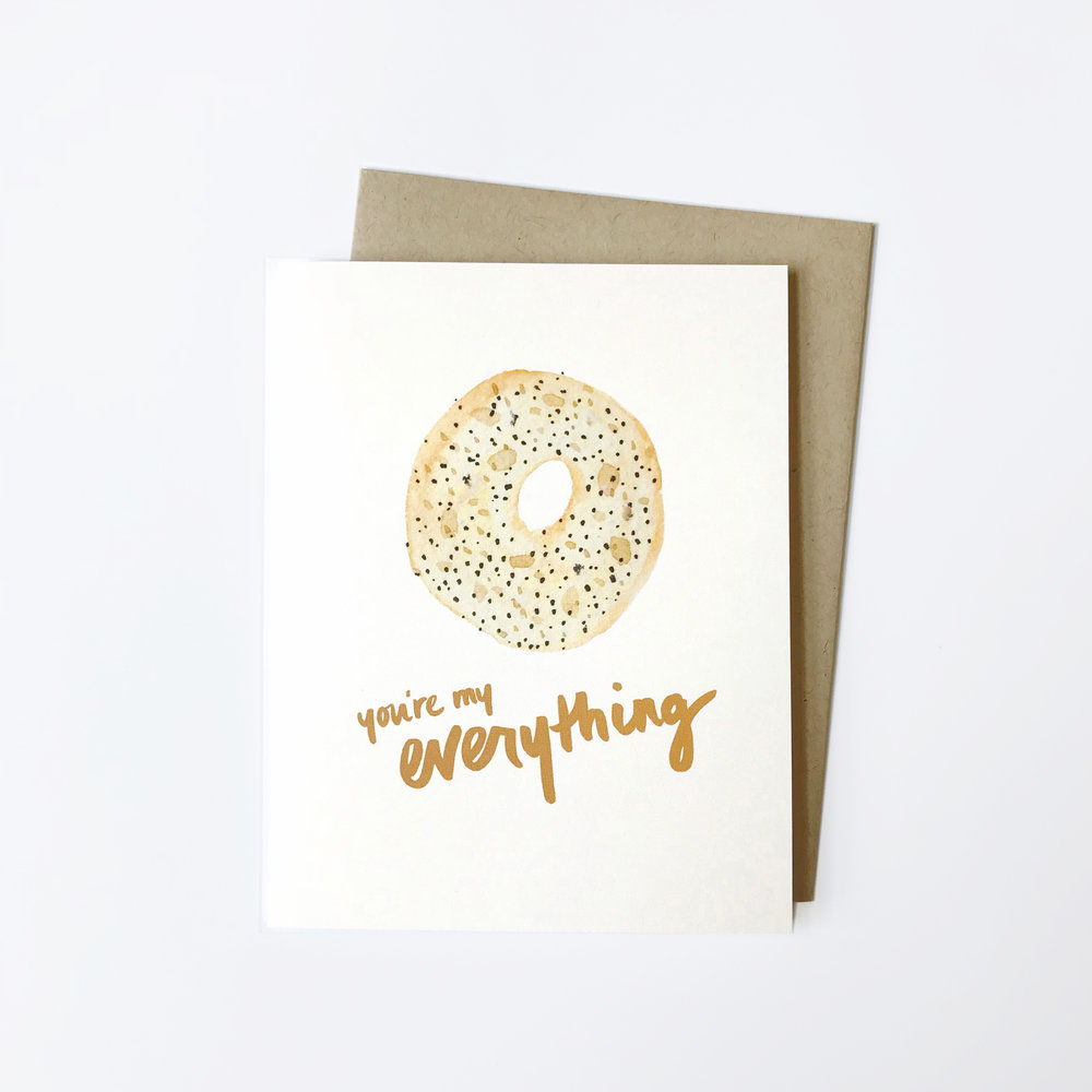 YOU'RE MY EVERYTHING CARD $5.50