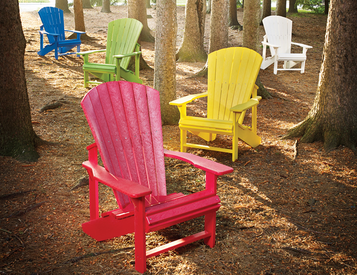 Superbe Colorful Adirondack Chairs