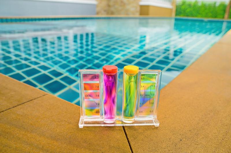 prevent Pool algae, Norman pools