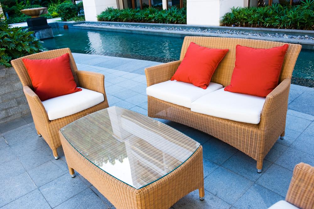 How to keep pool furniture clean, pool furniture Norman