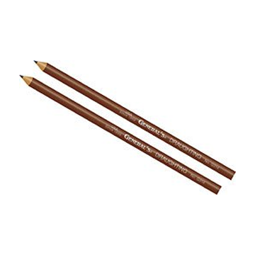 Round G314 Draughting Pencils    Classic sketching pencil, Pack of 2, by General's