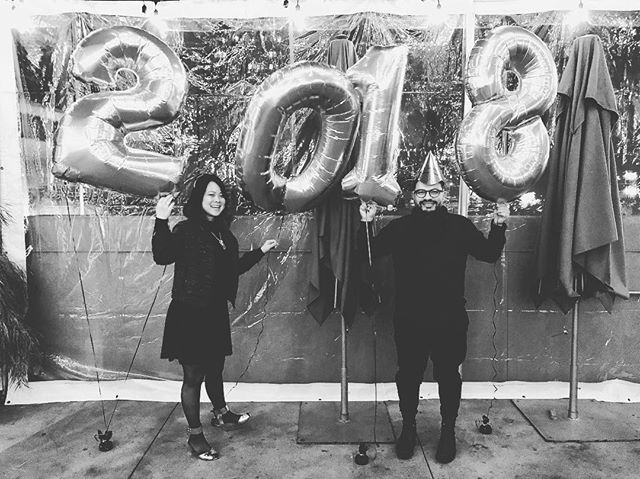 Happy 2018 peeps! ✌🏼✨