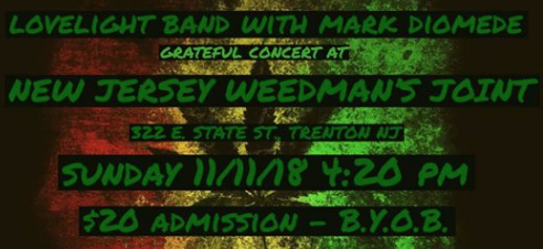 DEAD HEADS —- Come thru NJweedmans Joint and chill…….   DIRECT URL -   https://www.facebook.com/events/356839058220184