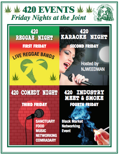 1st Fire Weedmans Friday Nj Night - Reggea — Joint