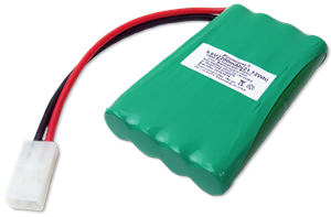 Standard 9.6 Volt @2200mAh Ni-MH Battery Pack