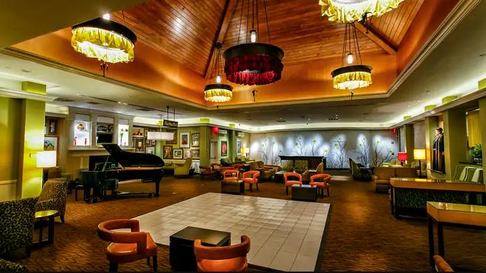 Hilton Garden Inn - Lobby Lounge  Follow Them on Instagram:  HGIStatenIsland