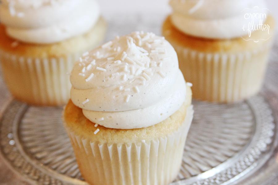 Signature Vanilla Cupcake