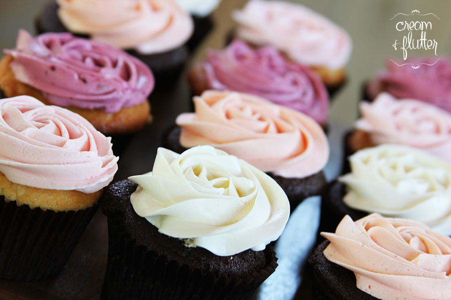 Rosette-style Cupcakes