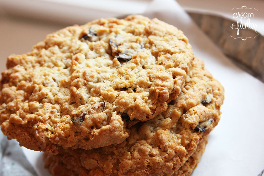 Oatmeal Granola Fig Cookie