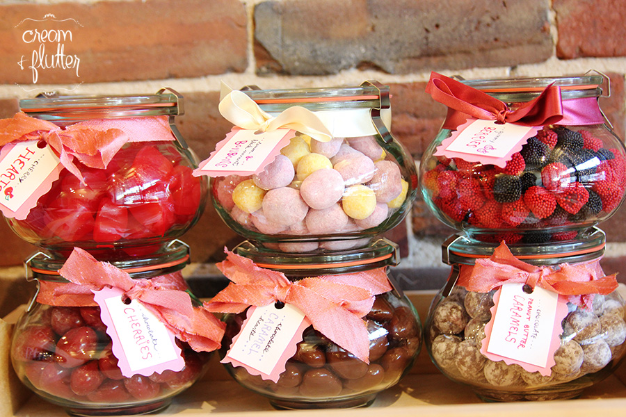 British Candy Gift Jars