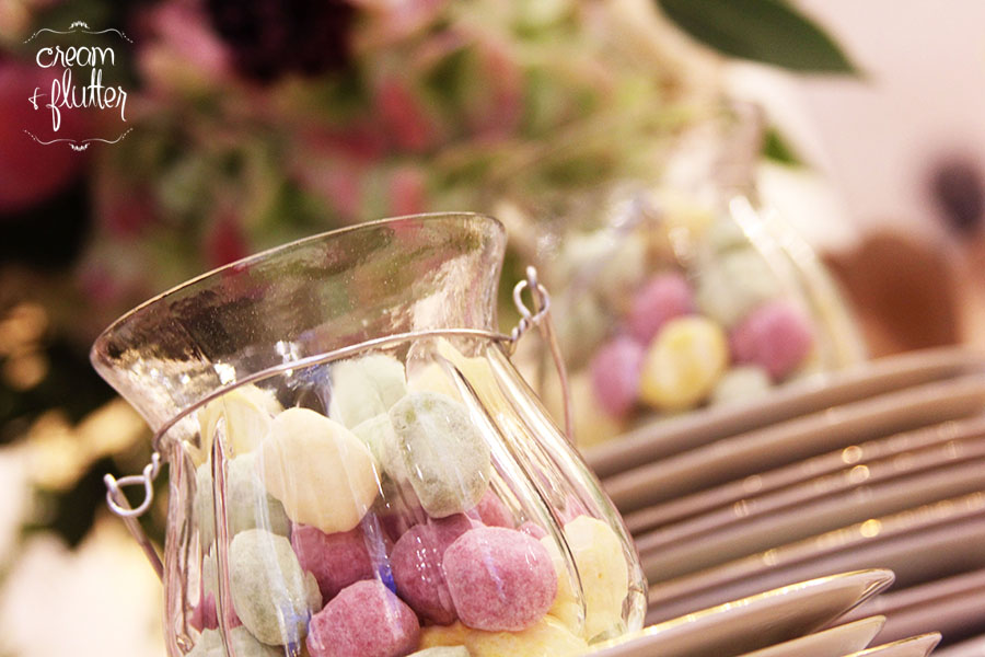 Bonbons in a Glass Jar