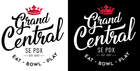 Grand Central NEW IDENTITY - Eat, Bowl & Play in SE PDXOur 10 year anniversary created the perfect opportunity to update our brand and introduce a new logo!  The goal was to make new logo active and fun, while keeping it classic and a little retro.  The new branding goes along with interior updates, some of which have already happened and more that will continue to be implemented in 2018.  http://www.thegrandcentralbowl.com/