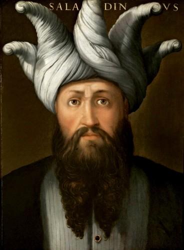 'Portrait Of Saladin' (ca. 1560) by Cristofano Dell Altissimo