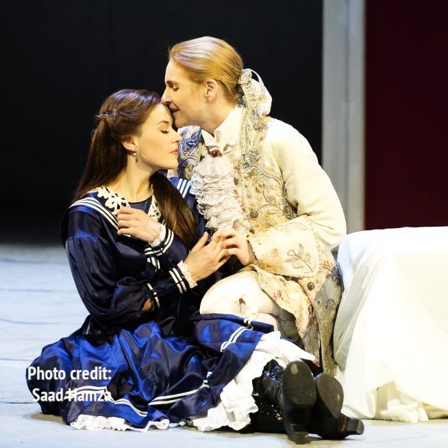 Sophie  Der Rosenkavalier , Aalto-Musiktheater Essen, January 2017