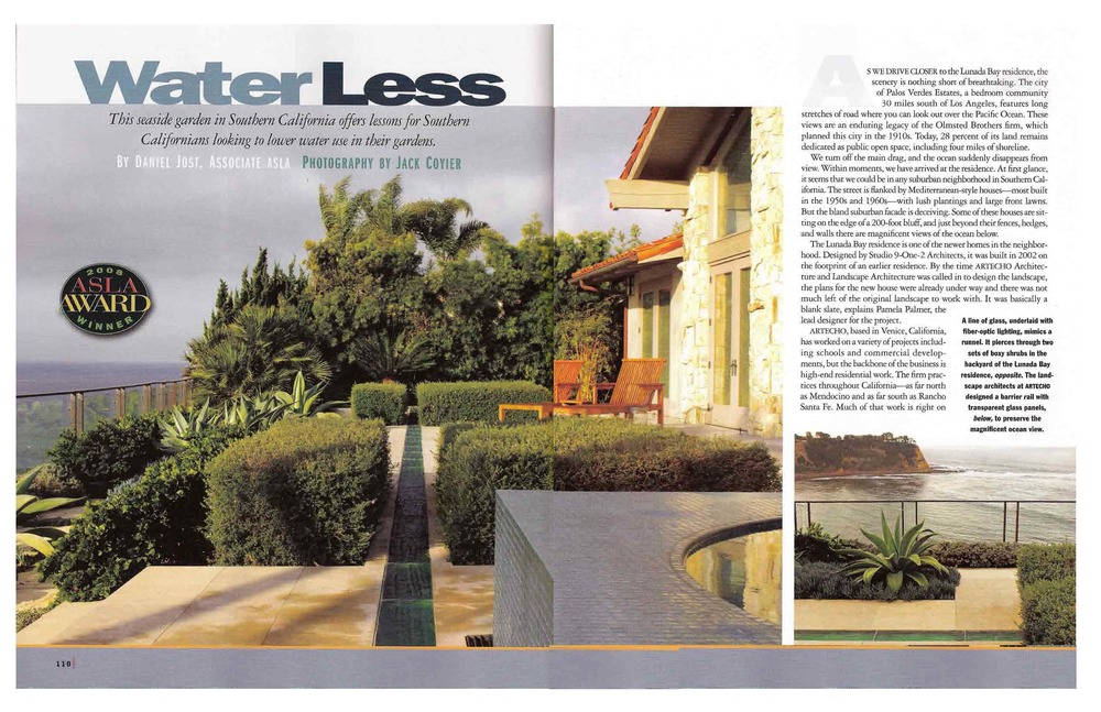 Landscape architecture magazine 2009 artecho landscape architecture water lesspage1g thecheapjerseys Choice Image