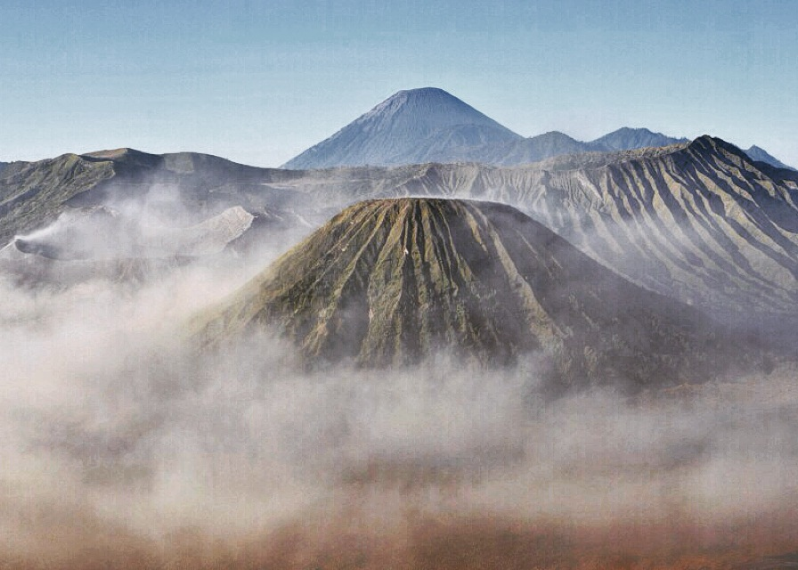 Mount Bromo, Malang, East Java      Photo: Kamazka Btara