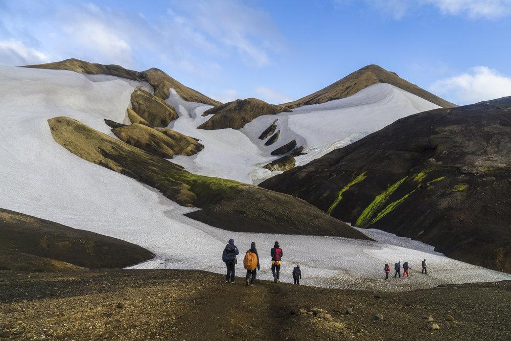 From Hrafntinnusker to Álftavatn, Iceland