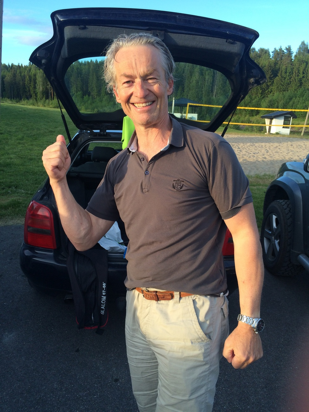 Thor Henning er fornøyd