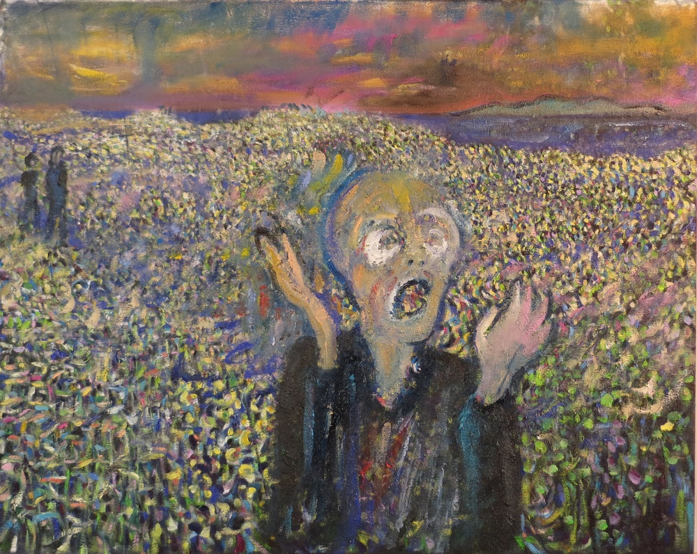 "Homage to edvard Munch's ""the scream"" Scream (after Munch)"