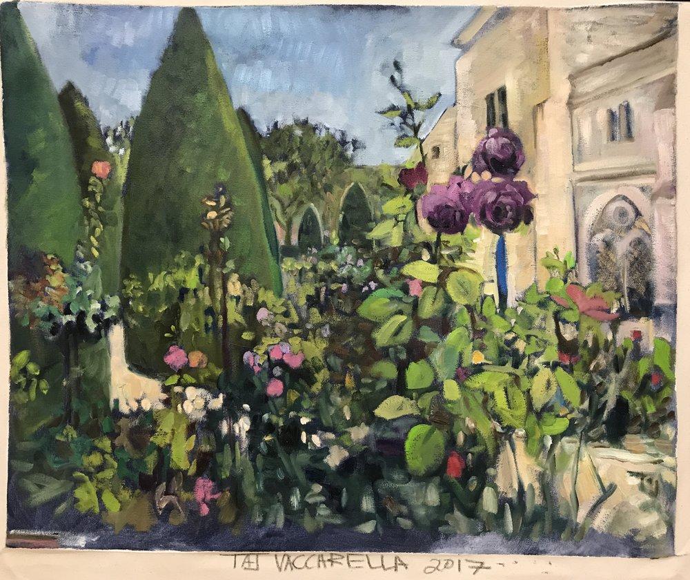 Jardin au musee Rodin