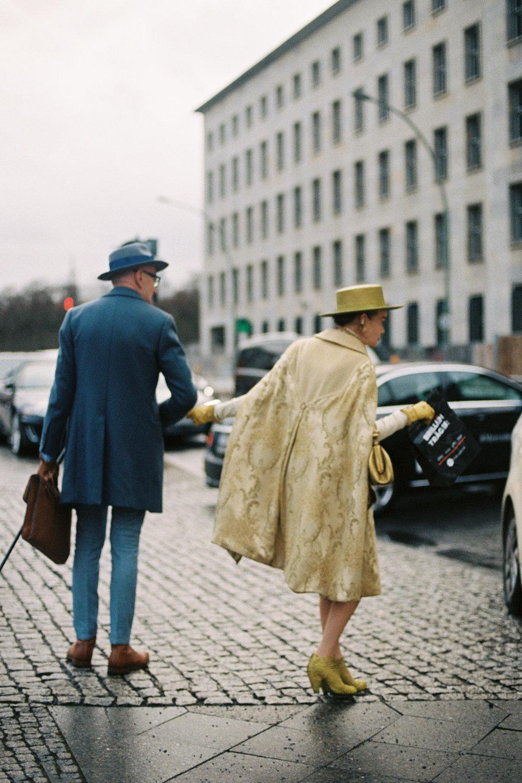 On the street, Berlin