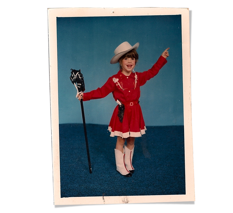 "In 1985, my first dance recital was a breathtaking tap routine to ""Deep in the heart of Texas"""