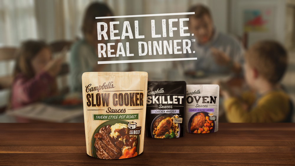 I created this logo for the Real Life. Real Dinner campaign we created.