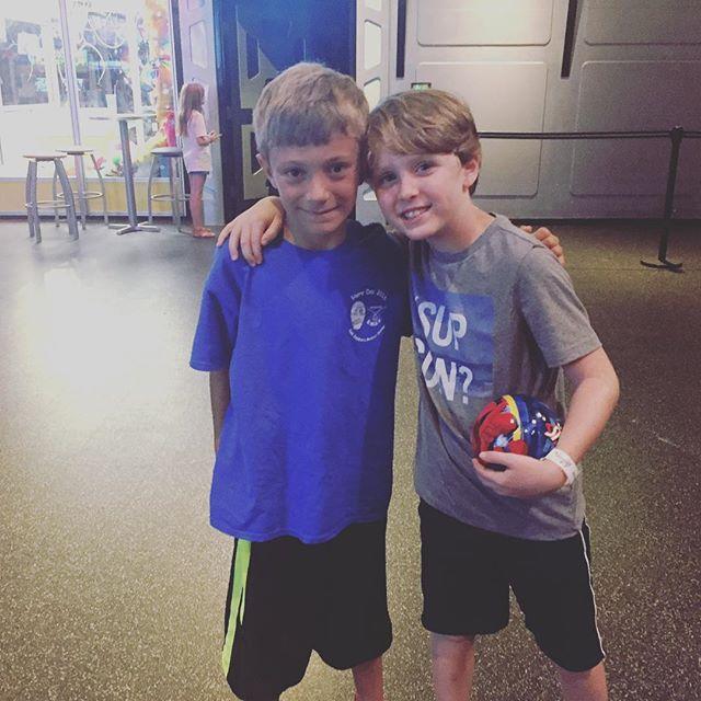 Best buds enjoying a pretty rad day together celebrating Jack's 9th birthday. #JackAndJake