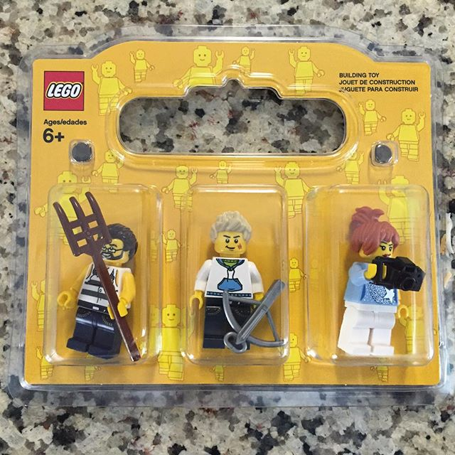 On a special birthday trip to the Lego store, Jack wanted to create custom Lego minifigures. Apparently these guys are (from left to right): Sean, Jack and I 😜 According to Jack, I like to take pictures and Sean likes doing yard work. :)