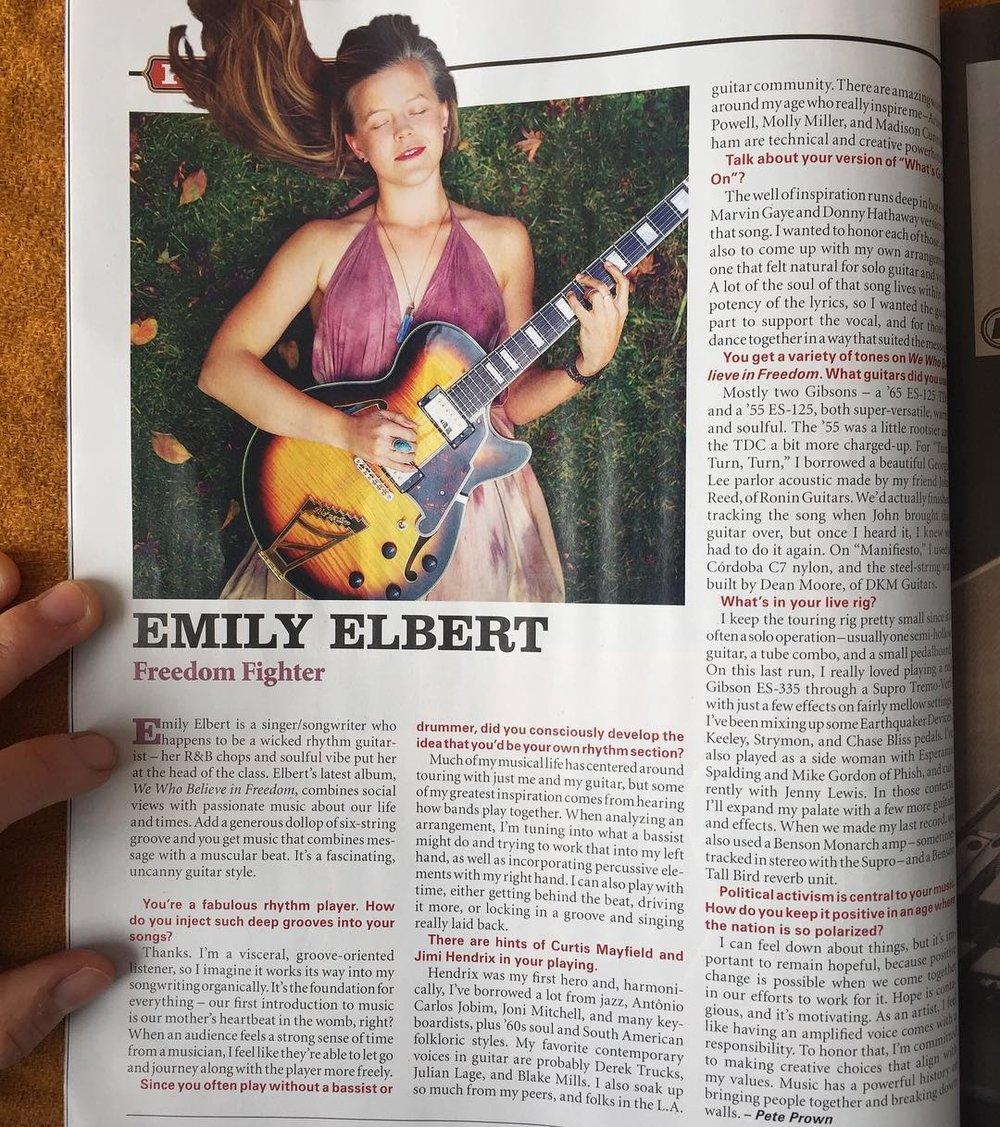 emily elbert vintage guitar 1