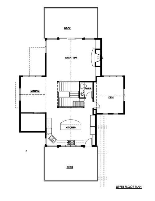 Suncadia Upside Down House   D ArchitectsUPPER FLOOR PLAN jpg