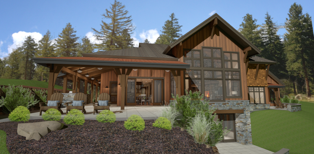 TUMBLE CREEK POST & BEAM (17007)