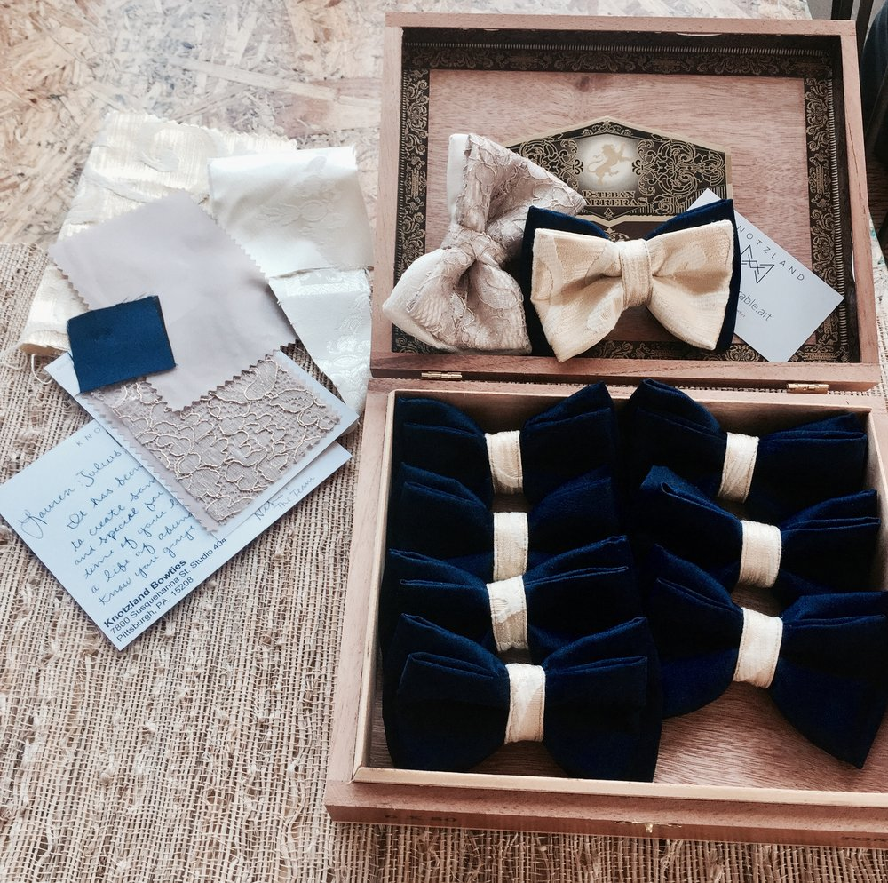 A Custom Expericce - By Knotzland Bowties