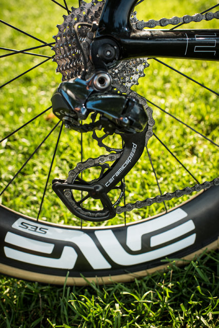 The ENVE SES 7.8 rear wheel. Photo from New York Times.