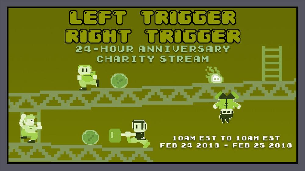 Left Trigger Right Trigger Charity Stream Offline Image