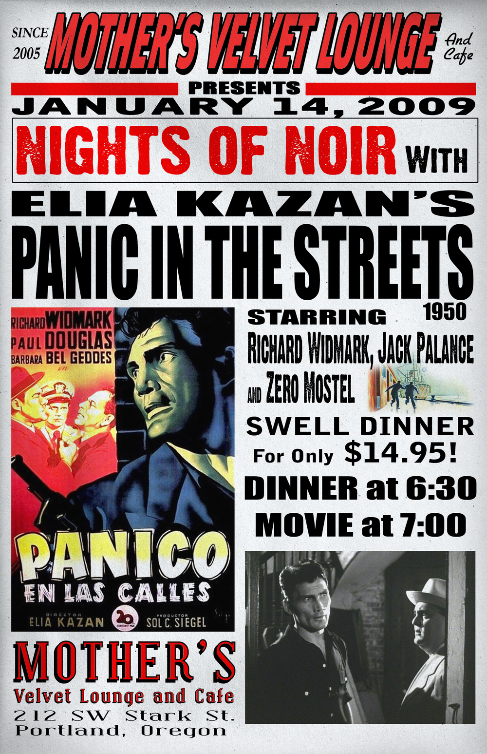 Panic In The Streets   (1950)  Elia Kazan