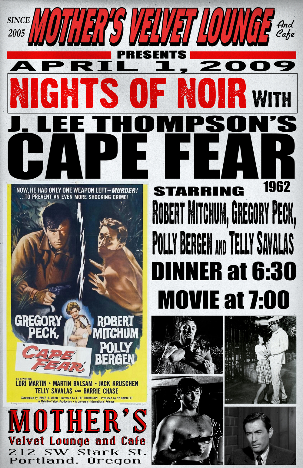 Cape Fear   (1962)  J. Lee Thompson