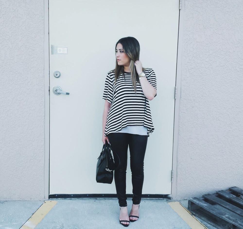 stripes & heel // rosetoroses.com