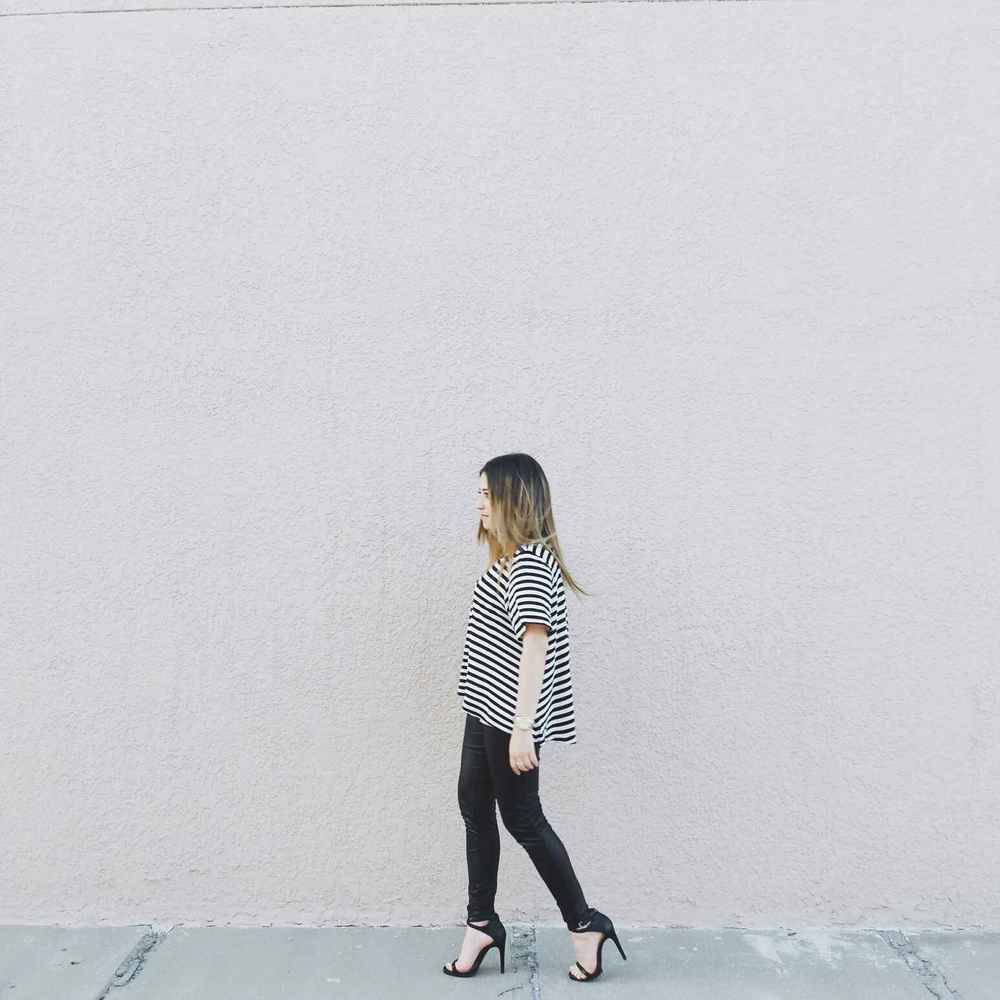 stripes & strides // rosetoroses.com