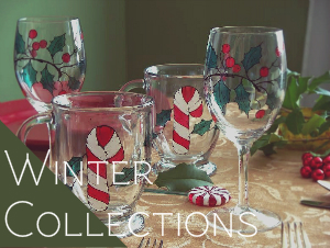 hand_painted_dragonfly_glassware