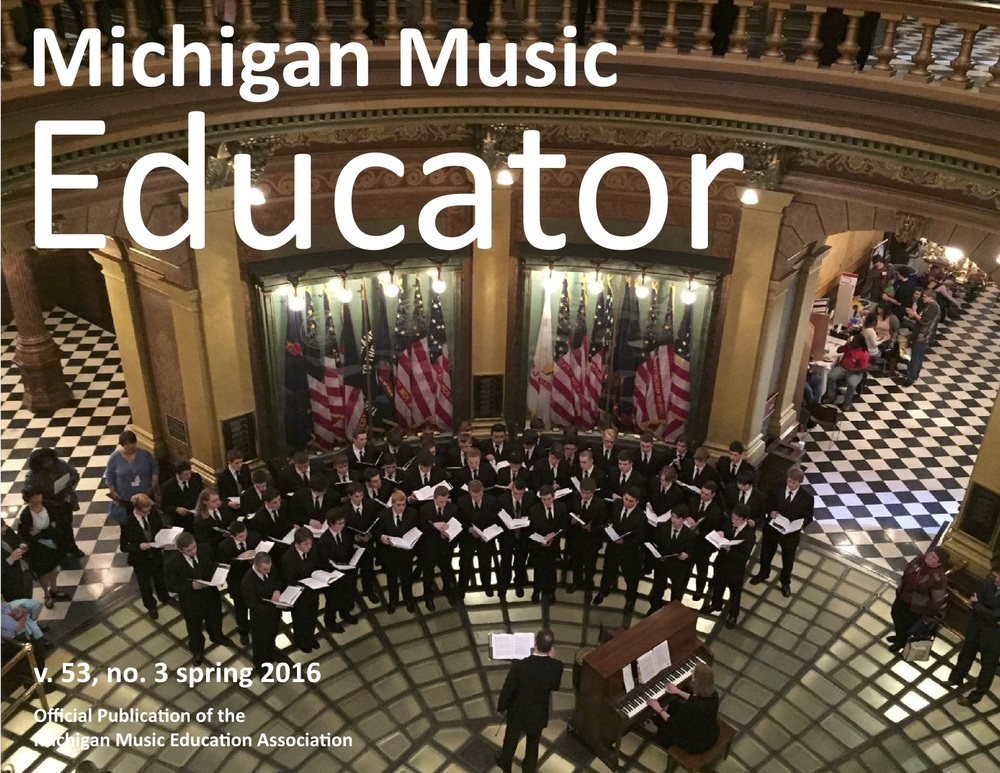 Click  here  to read the full review of  Squeak Big  in Michigan Music Educator (the journal of the Michigan Music Education Association).