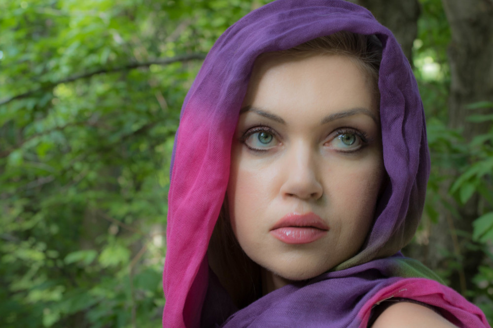 Pink / Purple Riding Hood