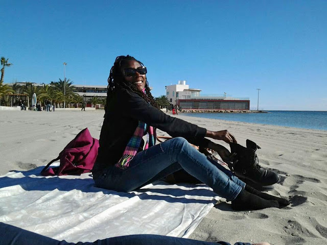 January 13. on the beach!