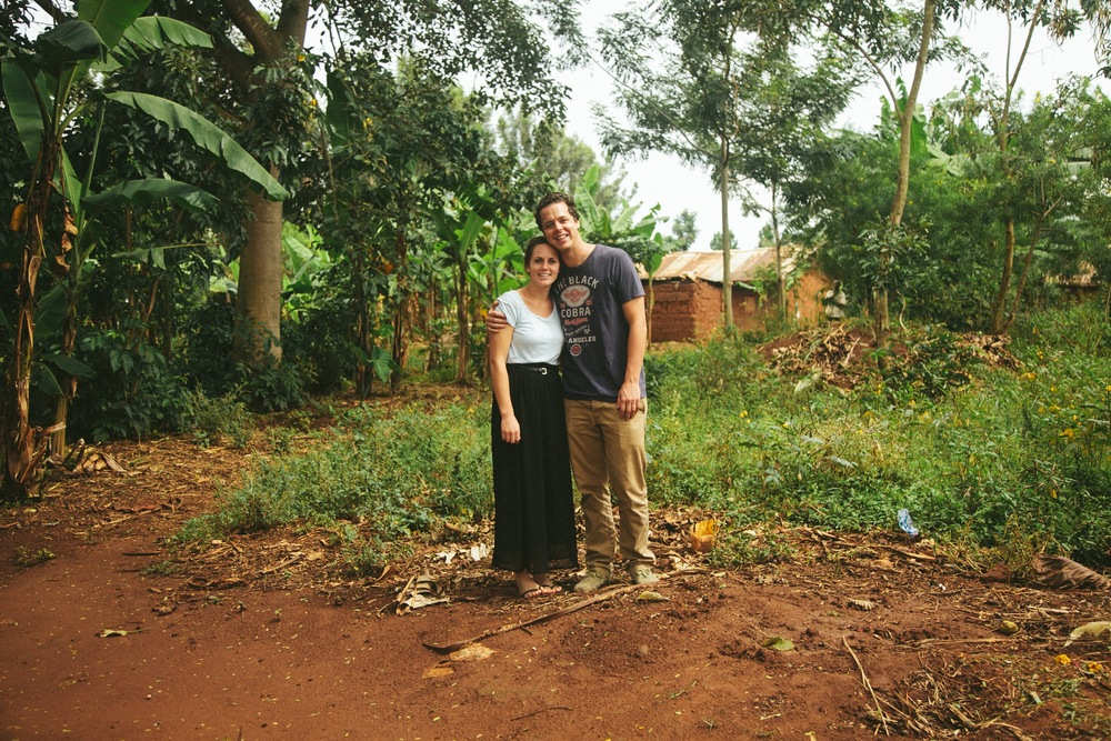 My wife Kirsten and I, it was our first time to Africa.
