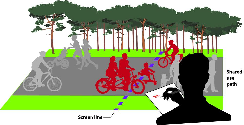 Bicycle/Pedestrian/Wheelchair Data Collection Program - (Reno-Sparks, NV)