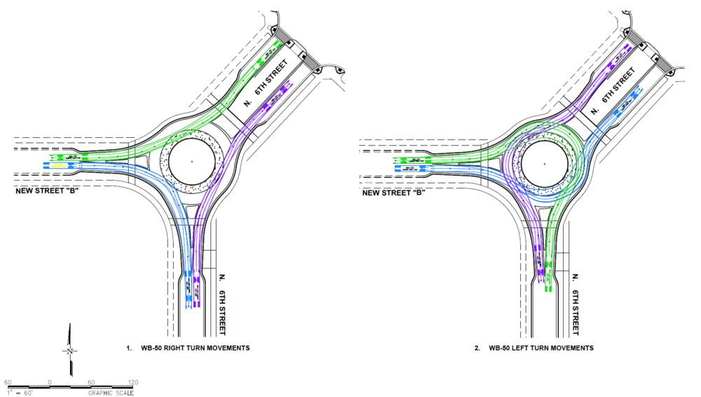 Township 9 Roundabout Design - (Sacramento, CA)