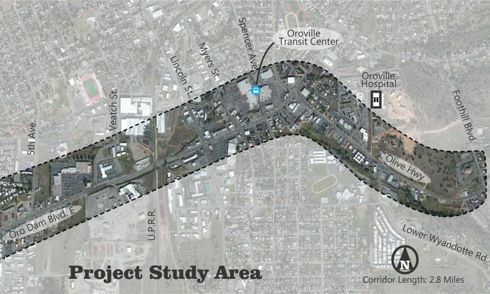 SR 162 - Corridor Study (Oroville, CA)