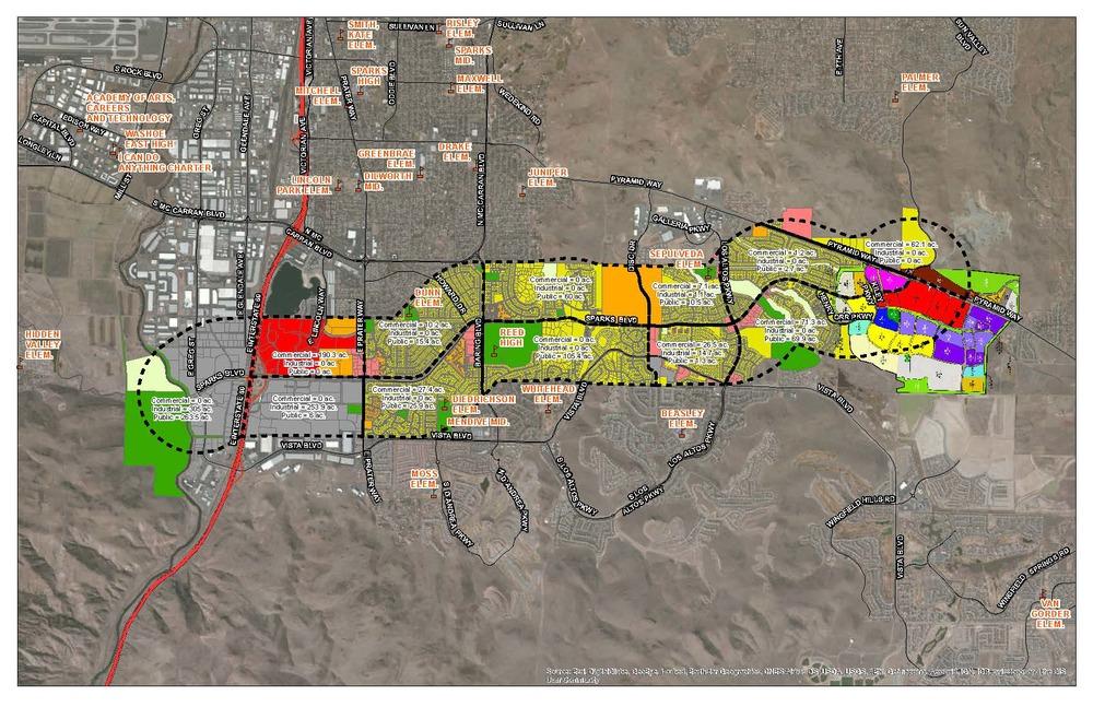 Sparks Boulevard Multi-Modal Corridor Study Land Use